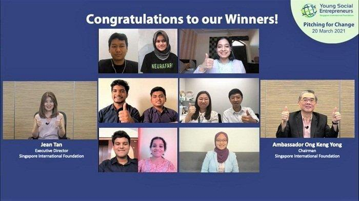 Tim Indonesia Menang di Ajang Kompetisi Wirausaha Global Young Social Entrepreneurs SIF