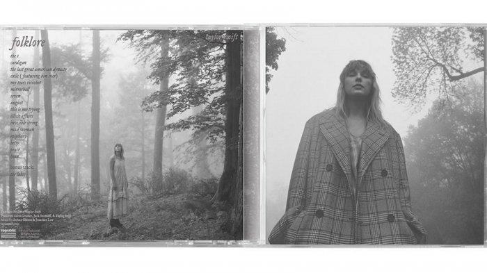 Berikan Kejutan untuk Penggemarnya, Taylor Swift Rilis Album Baru Bertajuk Folklore