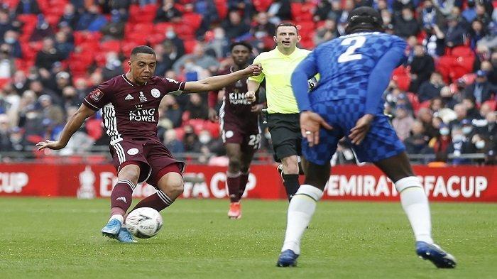 HASIL Final Piala FA, Chelsea vs Leicester, Gol Tielemans Buyarkan Mimpi Tuchel Raih Trofi Perdana
