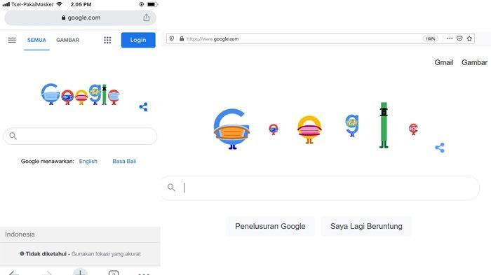 Lewat Doodle, Google Ingatkan Cara Pencegahan Covid-19