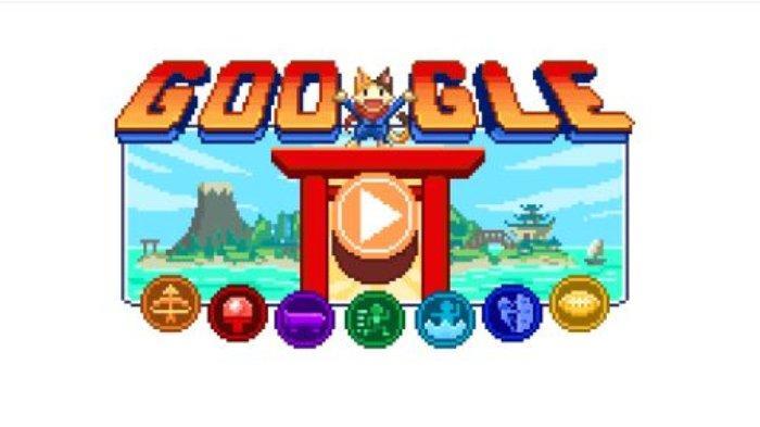 Google Doodle Ikut Sambut Gelaran Olimpiade Tokyo 2020 dengan Suguhkan Mini Game, Ini Cara Mainnya