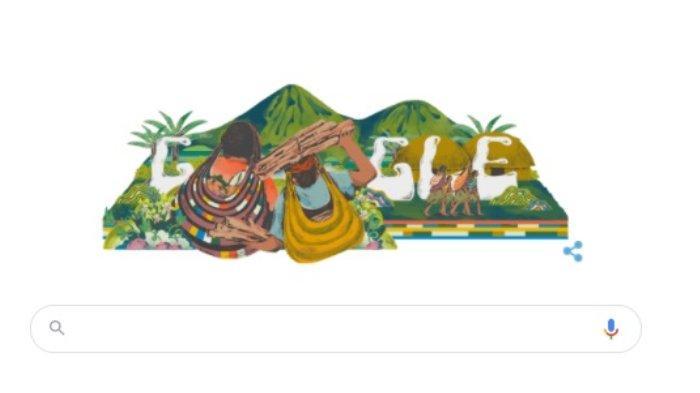 Google Doodle Hari Ini Tampilkan Noken, Tas Tradisional Papua yang Diakui UNESCO