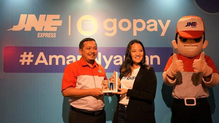 GoPay Jadi Alternatif Pembayaran Kiriman Paket di Gerai JNE