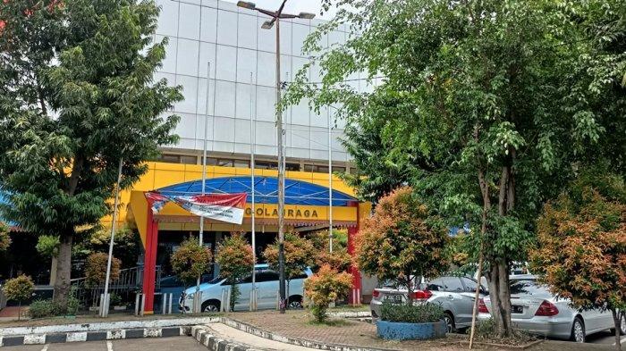 GOR Bulungan, Jakarta Selatan hingga Selasa (19/2/2021) masih tutup