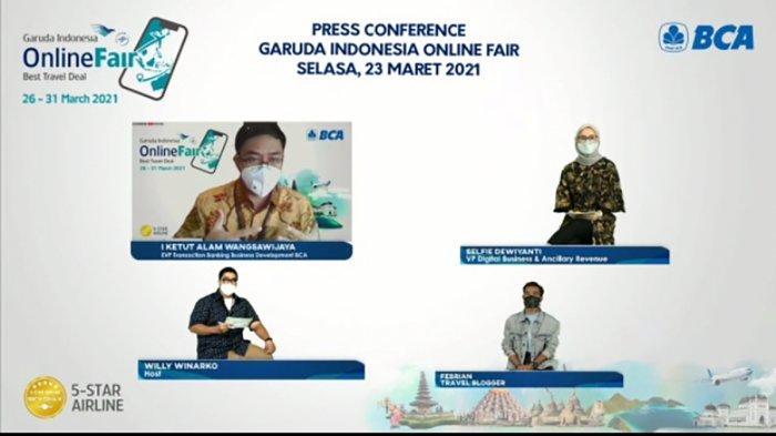 Catat Tanggalnya, Garuda Indonesia Mau Gelar Promo Tiket Hingga 85 Persen di GOTF