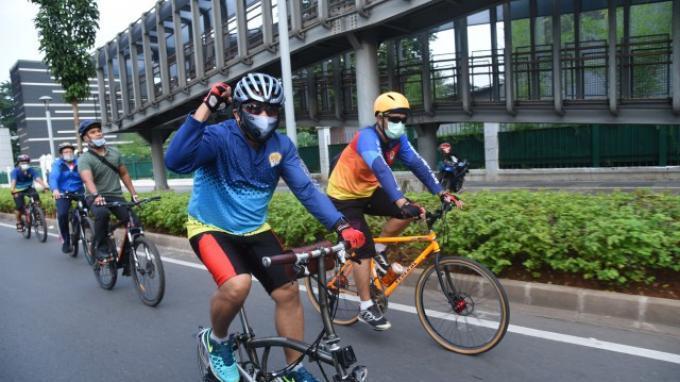 Setjen DPR Akan Perkuat Fasilitas Sepeda di Lingkungan DPR