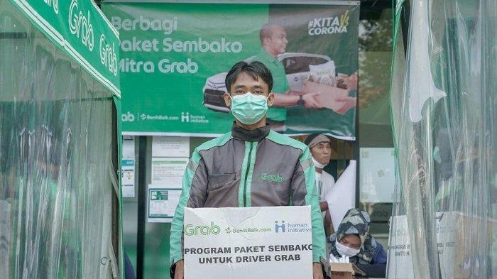 PSBB Berlanjut, Grab Gandeng Perusahaan Besar Perluas Donasi untuk Driver