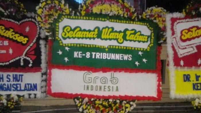 Grab Indonesia Ucapkan Selamat HUT ke-8 Tribunnews.com