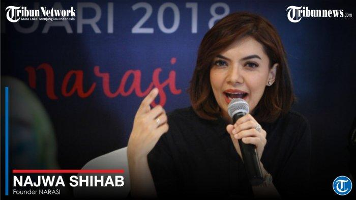 Najwa Shihab Masuk Rumah Sakit karena Gangguan Usus, Unggah Foto Tangan Diinfus