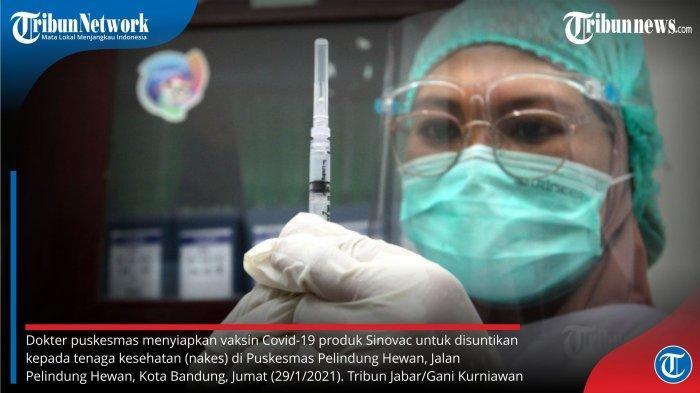 10 Juta Bahan Baku Vaksin Sinovac Tiba, Total Vaksin di Indonesia 38 Juta Dosis
