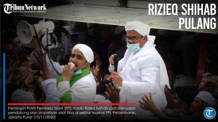 Rizieq Shihab Minta Semua Pihak Jalani Protokol Kesehatan, Jauhkan Segala Macam Kerumunan