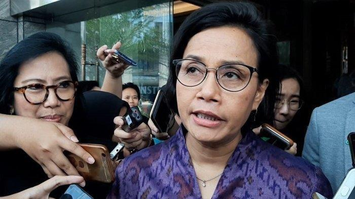 Menteri Keuangan - Sri Mulyani Indrawati tribunnews/dea duta aulia