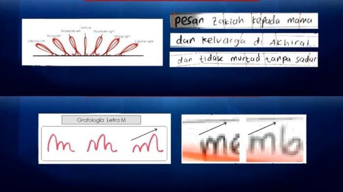 Grafolog Ungkap Makna Tulisan Tangan Pelaku Teror di Surat Wasiat: Ada Rasa Tidak Aman Sangat Besar