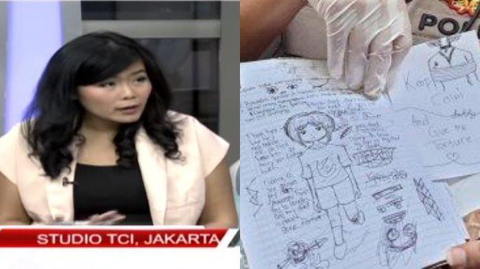Grafolog Ungkap Tulisan Tangan Siswi SMP Pembunuh Bocah: Berubah Ekstrem, Ada Sudut Tajam Tak Lazim