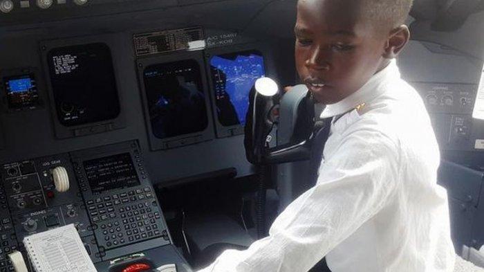 Kisah Shema Bocah 7 Tahun yang Bisa Menerbangkan Pesawat, Idolakan Elon Musk