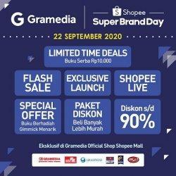 Gramedia dan Shopee Gelar Festival Buku Online