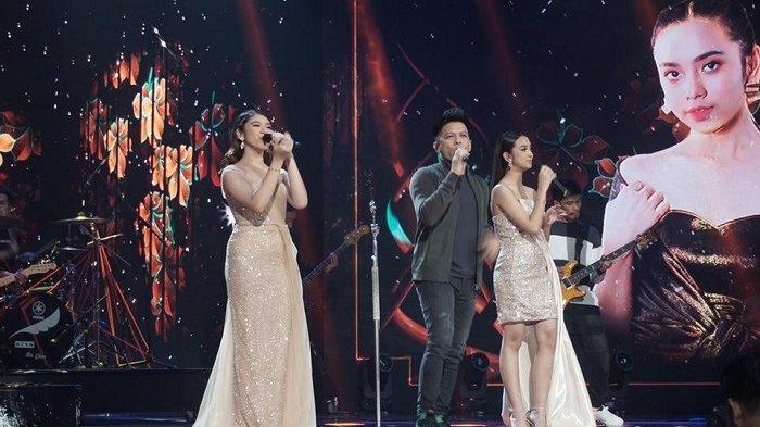 Grand final Indonesian Idol season X, yakni Lyodra Ginting dan Tiara Anugrah, Senin (2/3/2020).