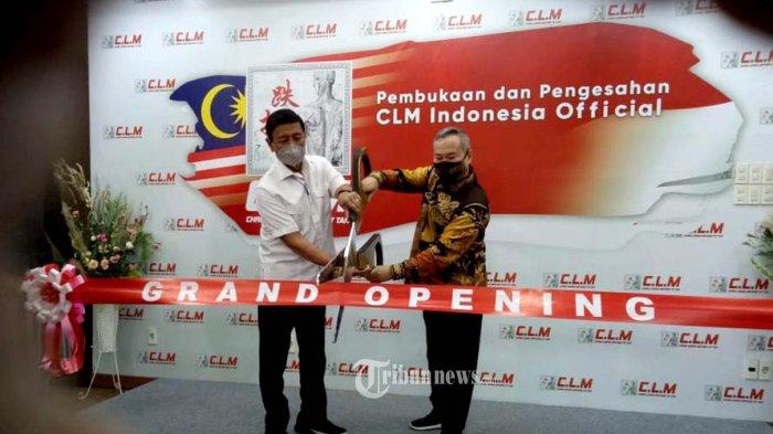 Jend TNI (Pur) Wiranto Hadiri Grand Opening Outlet Chris Leong Method Tit Tar (CLM) di Jakarta