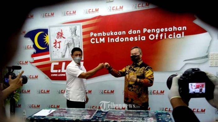 Jen TNI (Pur) Wiranto dan Master Chris Leong.