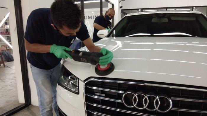 Luminoz Auto Care Jadi Salon Kendaraan Pertama yang Bisa Coating Sepeda