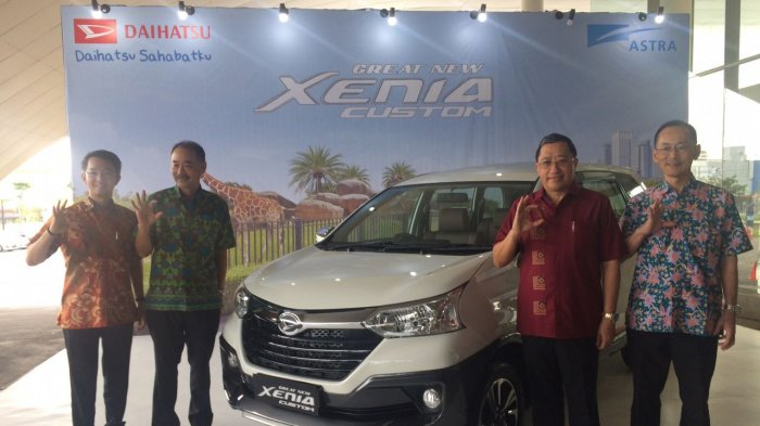 Daihatsu Luncurkan Great New Xenia Custom Berkonsep 'Tough & Sporty'