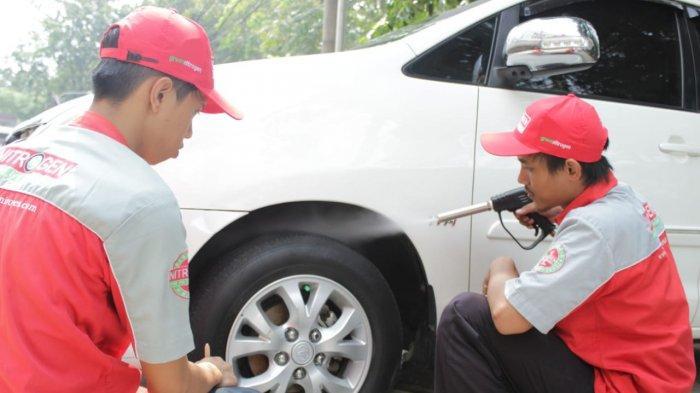 Jasa Isi Nitrogen dan Tambal Ban di SPBU Kini Mulai Rambah Segmen Online
