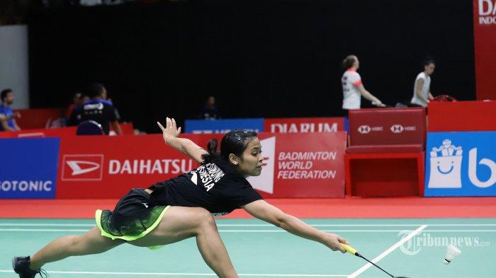HASIL Thailand Open 2021: Gregoria Mariska Tunjung Kandas, Semangat Juang Jorji Menawan