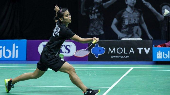 Gregoria Mariska Tunjung ke Semifinal Usai Kalahkan Ruselli Hartawan di Mola TV PBSI Home Tournament