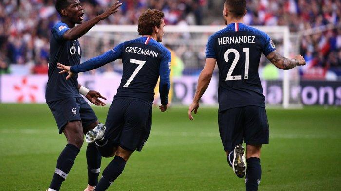 Melempem di Barcelona, Griezmann Justru Selalu Tampil Gemilang Bersama Timnas Perancis