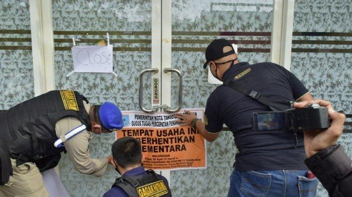 Griya Pijat Plus-plus di Bintaro Izinnya Bakal Dicabut Karena Buka Saat PSBB dan Kelabui Petugas