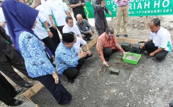 Tommy Soeharto Bangun Hotel Syariah Terbesar se Indonesia