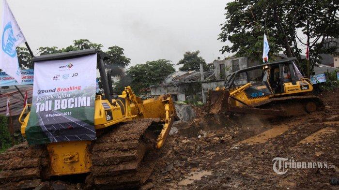 Ruas Tol Cigombong-Cibadak Ditargetkan Rampung Agustus 2021