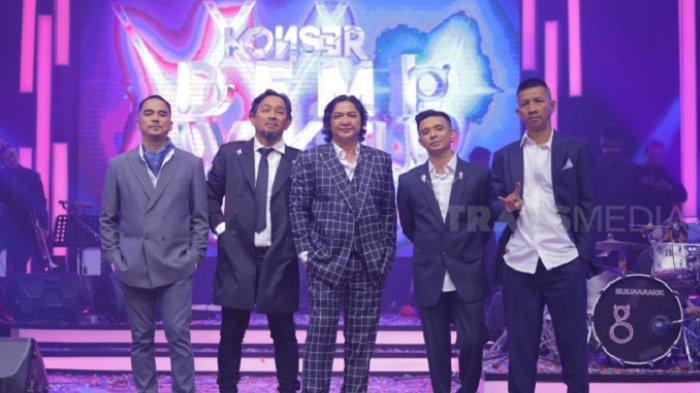Konser Demi Waktu, Tandai 25 Tahun Perjalanan Karier Band Ungu di Blantika Musik Indonesia