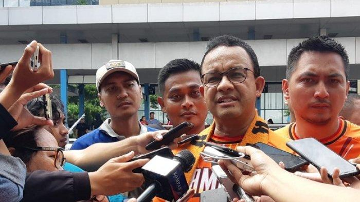 Gubernur DKI Jakarta Anies Baswedan menyampaikan tanggapannya soal Stadion BMW untuk kandang Persija Jakarta