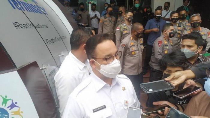 Bahas PPKM, Anies Baswedan Temui Presiden Jokowi di Istana