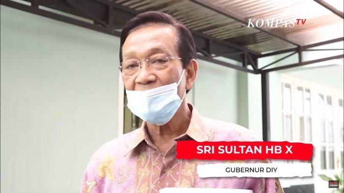 Gubernur Daerah Istimewa Yogyakarta Sri Sultan Hamengku Buwono X