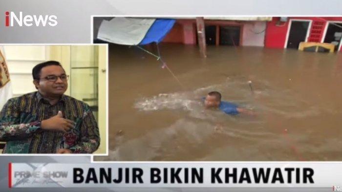 Alasan Anies Baswedan Banyak Diam soal Banjir Jakarta: Mengikuti Ritme Itu Repot