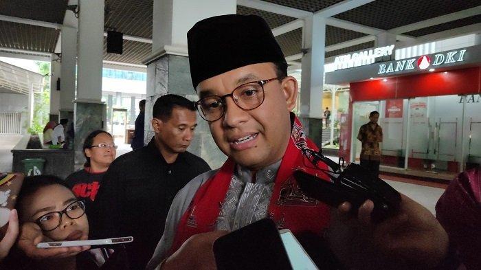 Gubernur DKI Jakarta Anies Baswedan di Balai Kota DKI, Jakarta, Jumat (22/11/2019).