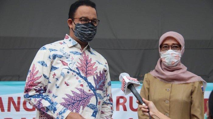 Gubernur DKI Jakarta Anies Baswedan di Balai Kota DKI, Jakarta Pusat, Selasa (28/4/2020)/dok. Pemprov DKI
