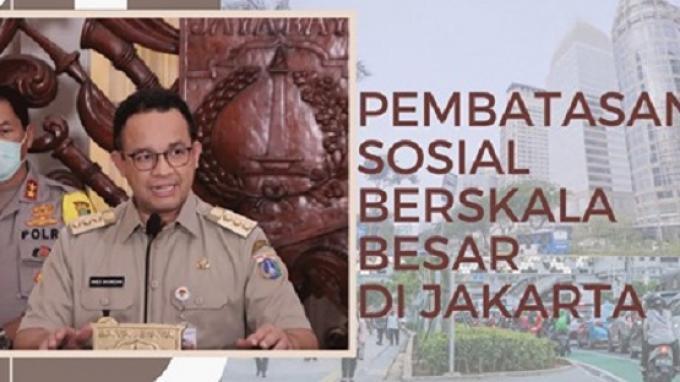Anies Baswedan Ancam Cabut Izin Perusahaan Yang Tolak Wfh Selama Psbb Jakarta Tribunnews Com Mobile