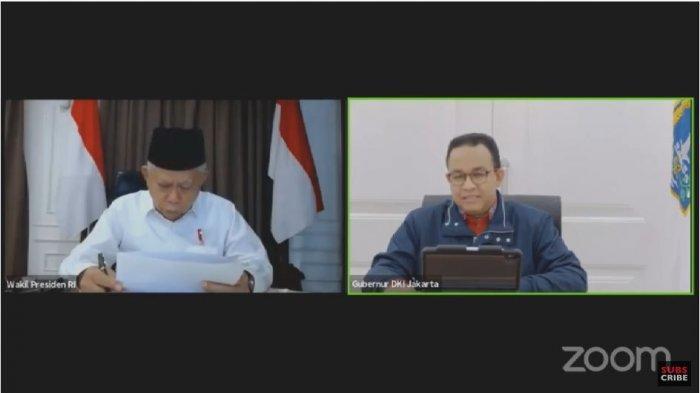 Anies Lapor ke Wapres Soal Kondisi Corona di Jakarta : Pak, Ini Kurvanya Masih Meningkat