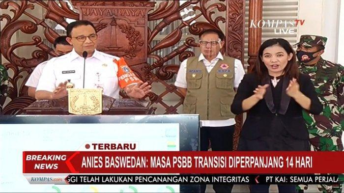 DKI Jakarta Punya Lampu Hijau Lakukan Pelonggaran, Anies Tetap Pilih Lanjutkan PSBB Transisi