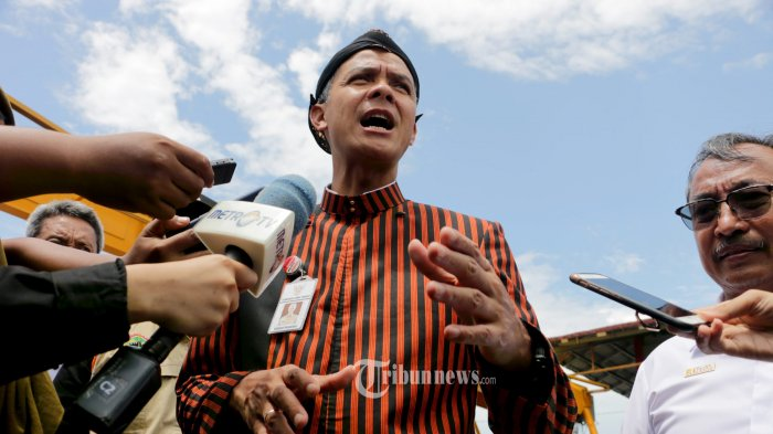 Gubernur Jawa Tengah, Ganjar Pranowo. (Tribun Jateng/Hermawan Handaka)