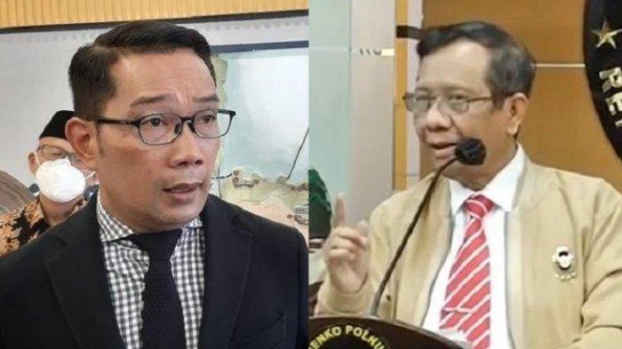 Balas Ridwan Kamil, Mahfud MD: Dimana Salahnya?