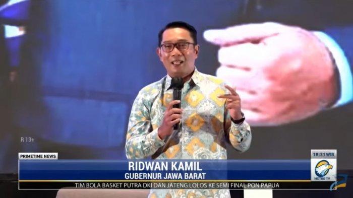 Gubernur Jawa Barat Ridwan Kamil mengaku siap nyapres di Pemilu 2024, buka peluang lewat PAN.