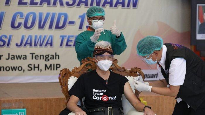 Presiden Jokowi, Kapolri, Gubernur Hingga Dokter Tirta Bicara Efek Samping Usai Divaksin Covid-19