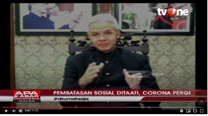 PSBB Jakarta Mulai Hari Ini, Ganjar Pranowo Pikirkan Beberapa Alternatif di Jawa Tengah