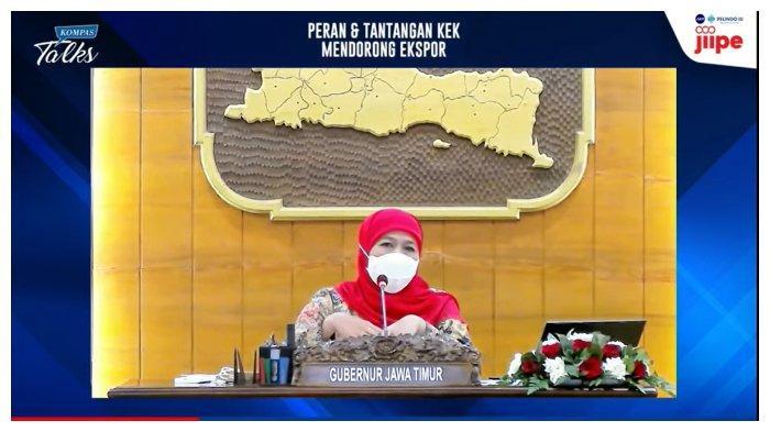 Sebut Provinsi Jawa Timur Masuk Level 1, Khofifah: Ini Buah Kerja Keras dari Semua Pihak
