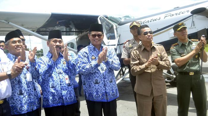 Warga Perbatasan Kalimantan Utara Kini Bisa Naik Pesawat dengan Harga Subsidi