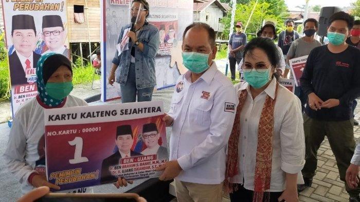 Ben Brahim - Ujang Iskandar Gugat Hasil Pilkada Kalteng ke MK